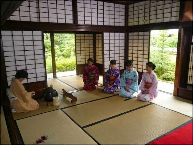 Interior Rumah Tradisional Jepang