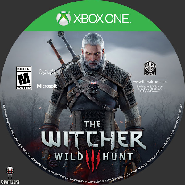 Label The Witcher 3 Wild Hunt Xbox One