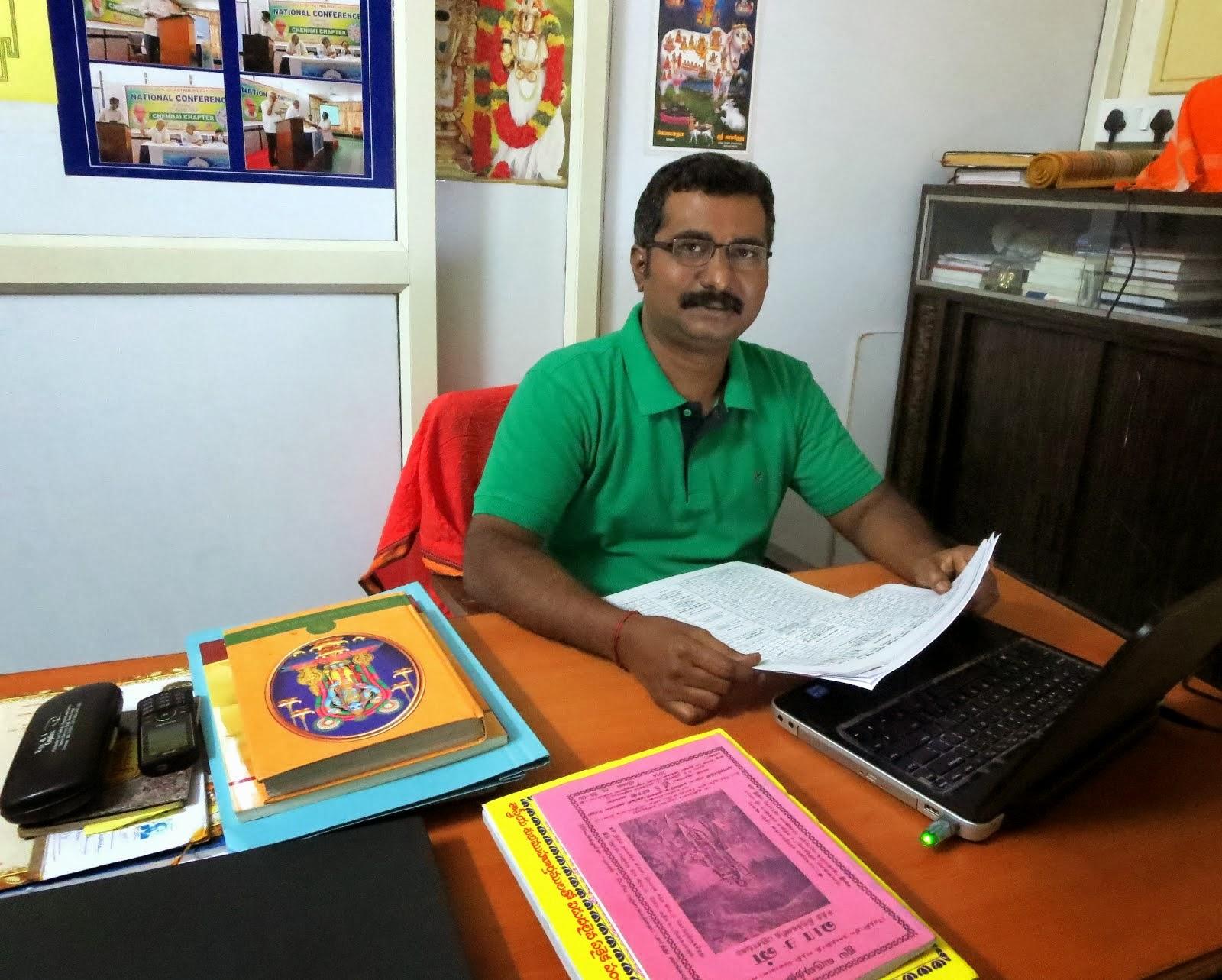 Suresh Kumar, Astrologer - Numerologist