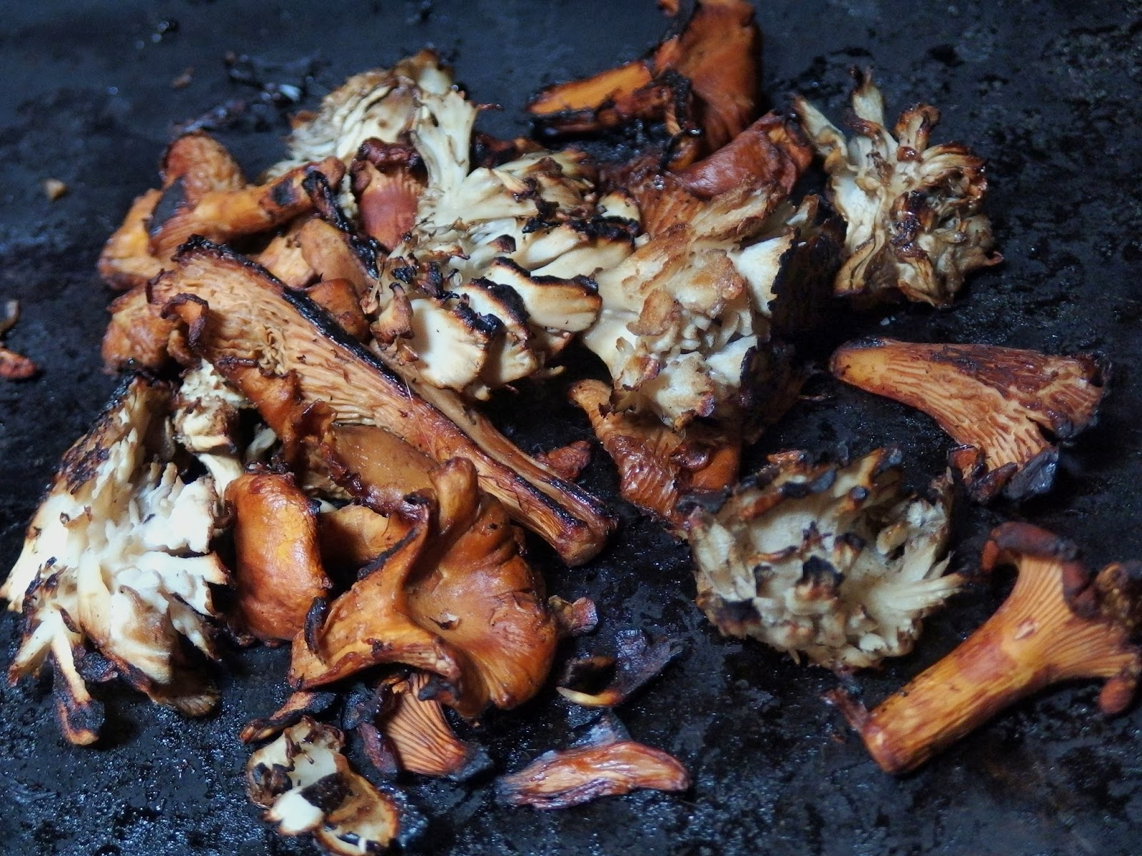 Wild Mushrooms Sauteed In Butter, Sherry And Lemon Recipe ...