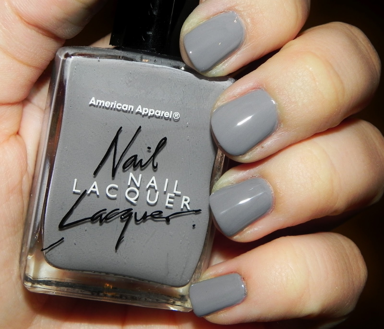 Nail Of The Day Factory Grey The Puzzle Of Sandra S Life