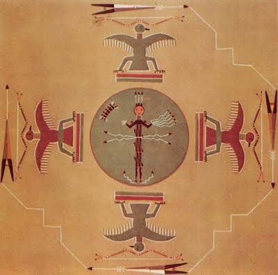 A History Of Graphic Design Chapter 78 Navajo Indians Sand Painting