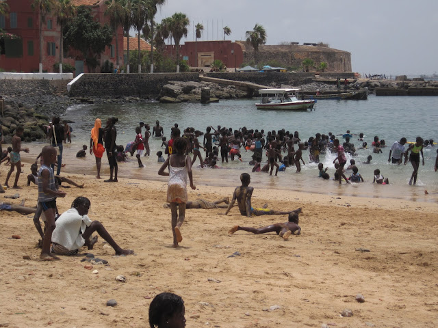 Playa de la Isla de Gorée (Senegal)