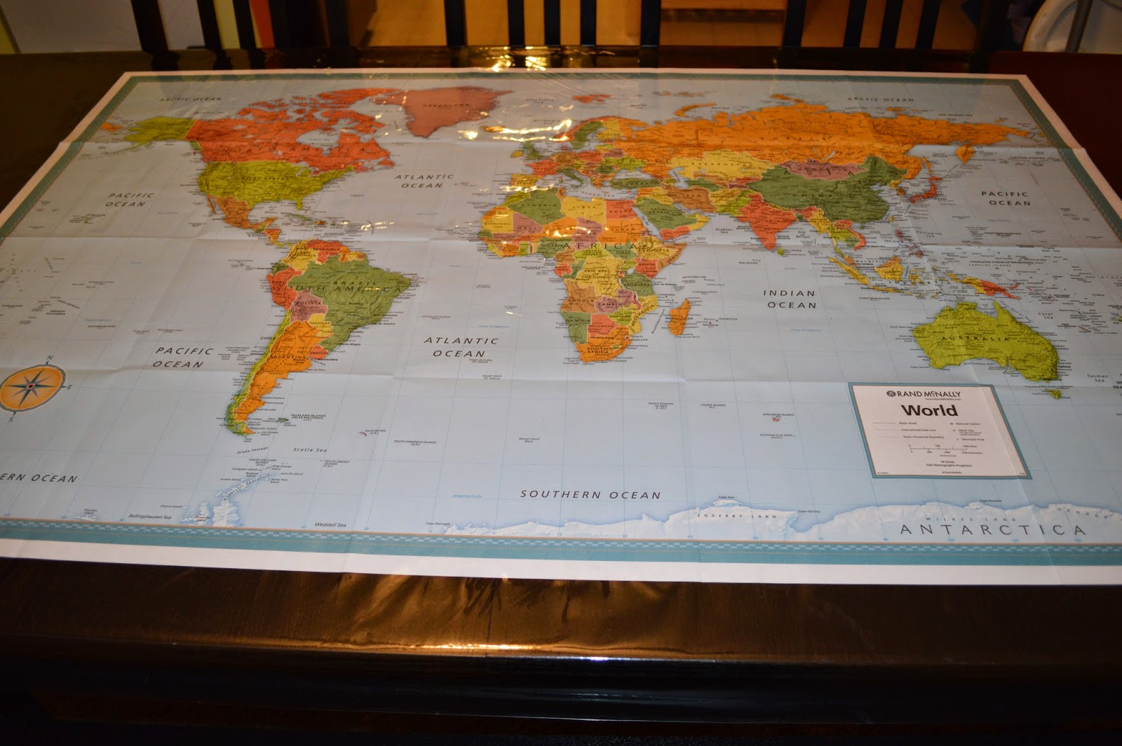 Loving the homeschool life my learning table i did use a map a very inexpensive one i ordered from amazon then i went to hobby lobby and purchased plastic sheeting it is sold with the large fabric gumiabroncs Images