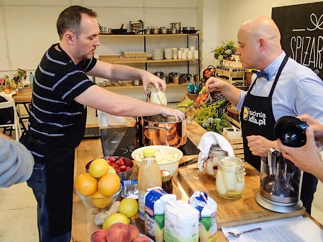 gotowanie blogerów w kuchni lidla