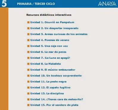 LIBRO DIGITAL 5º