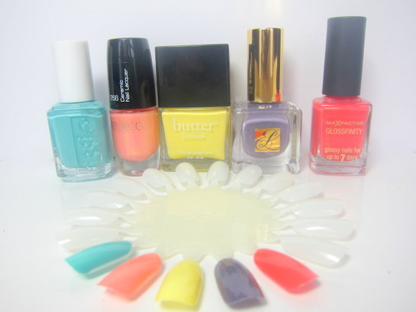 Favourite Nail Colours For Spring SS13