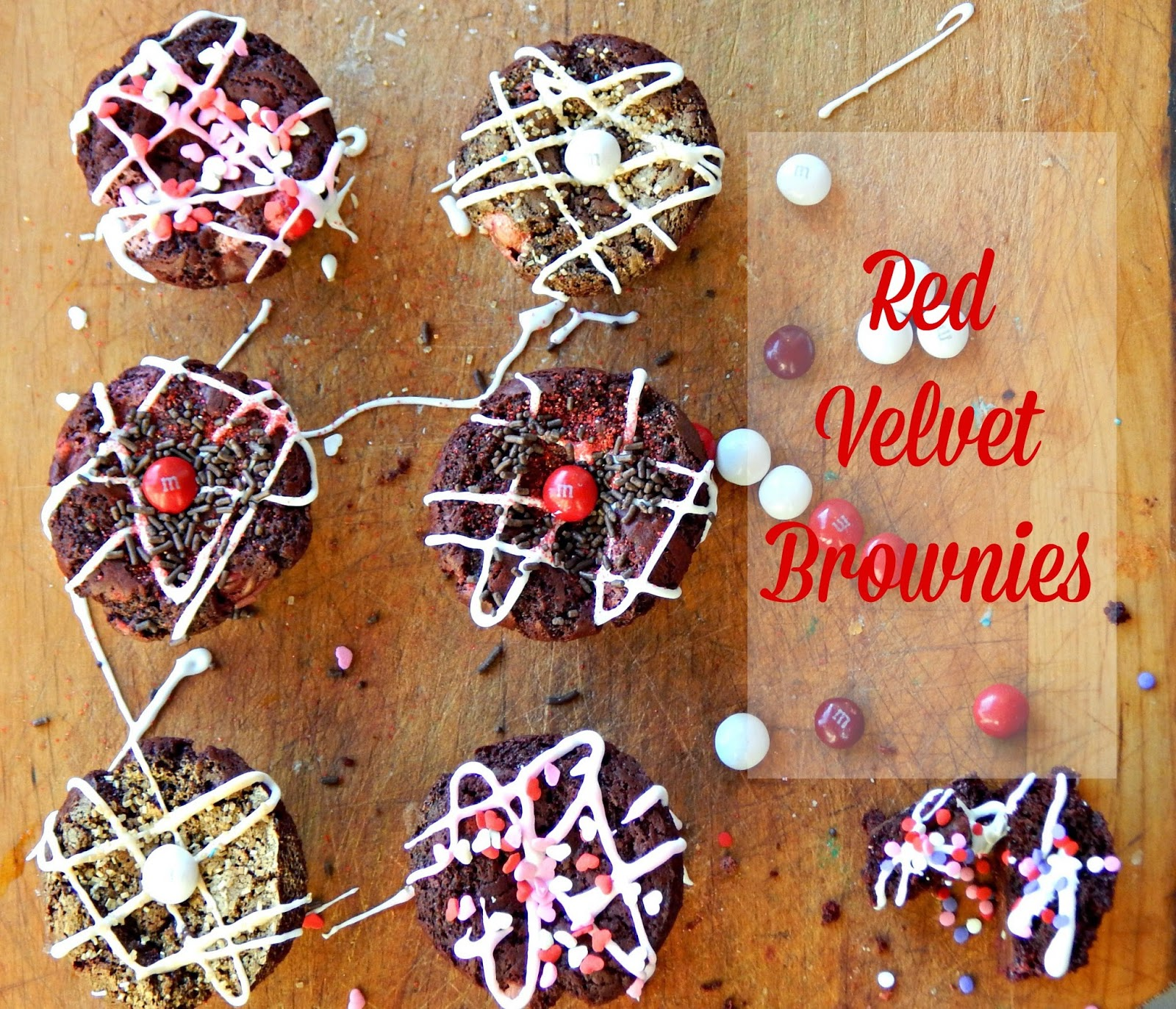 How to make red velvet brownie cupcakes for Valentine's Day! #redvelvetlove #ad