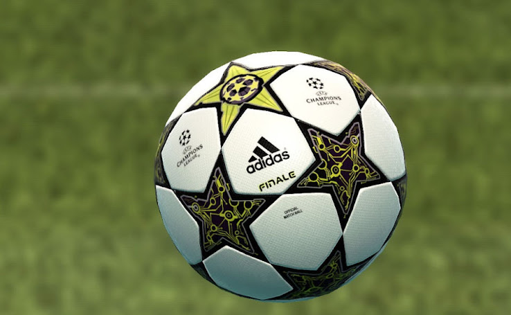 Adidas Finale 12 13 Champions League Ball by skills rooney