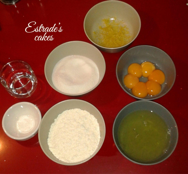 receta de bizcocho esponja clasico - ingredientes