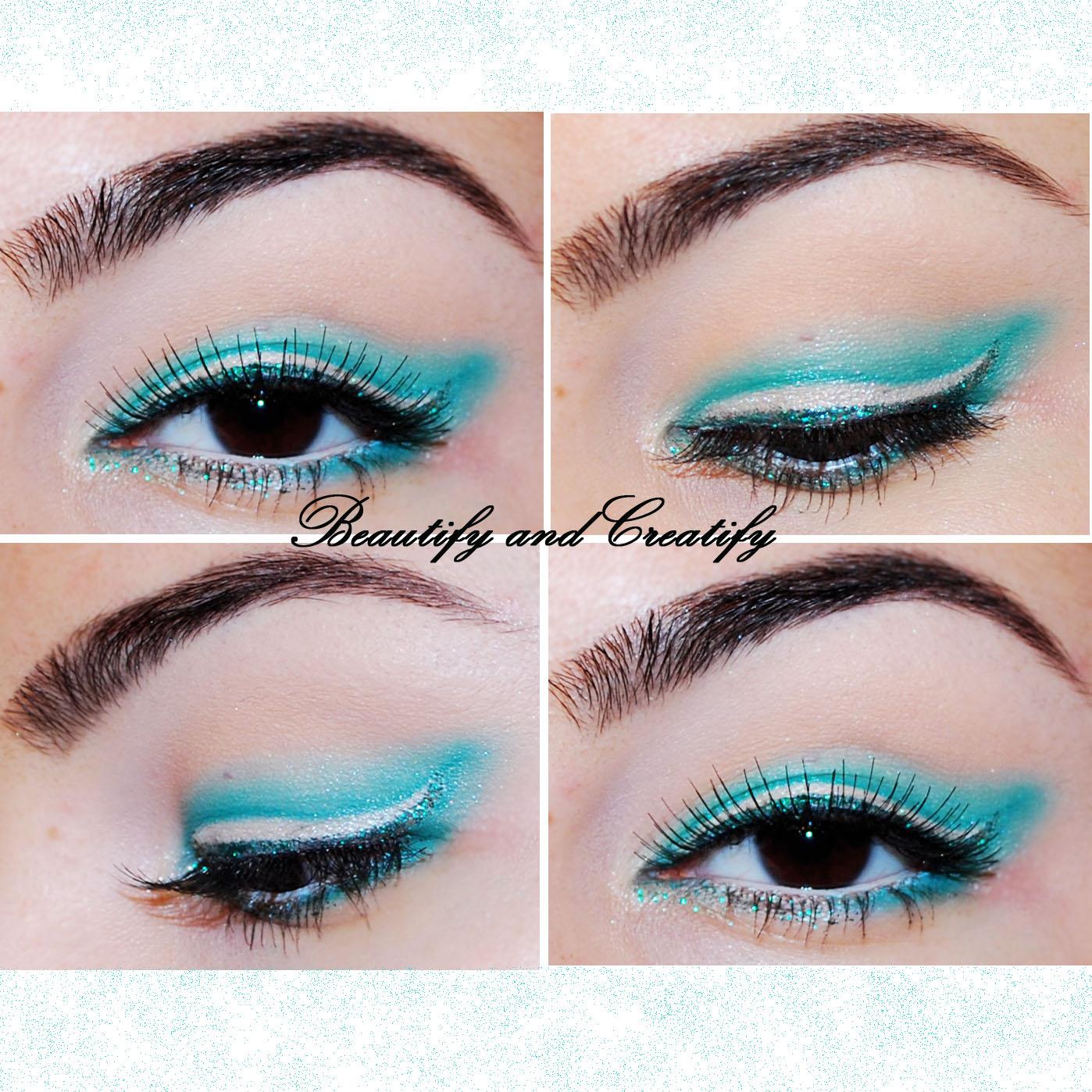 Beautify and creatify colorful subtle winged eye makeup tutorial baditri Images