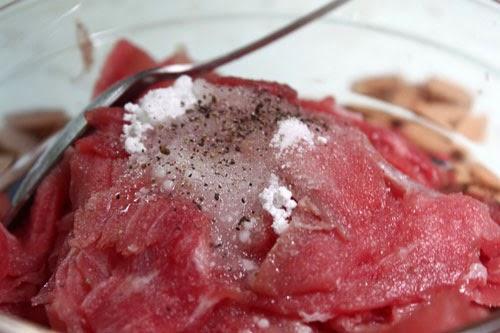 Món thịt bò xào hoa thiên lý thơm ngon 1