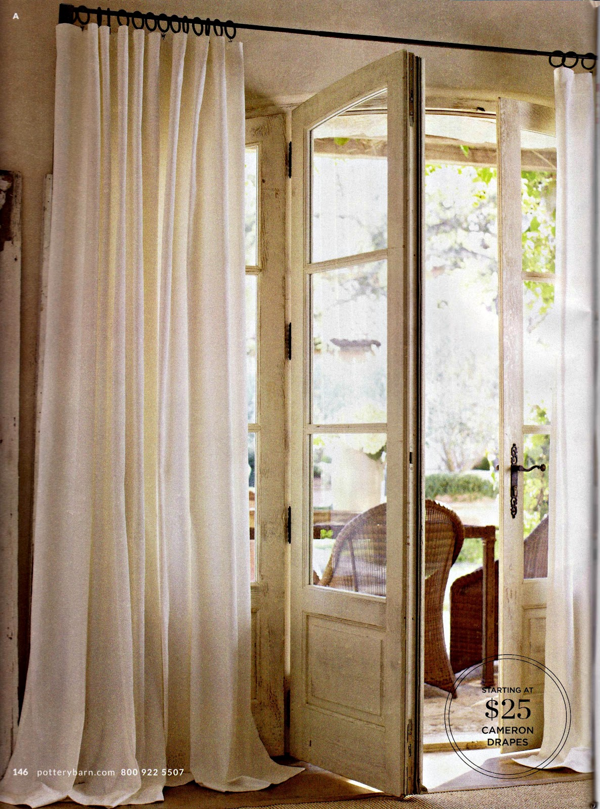 ... find these simple curtains They are Cameron Cotton curtain panels