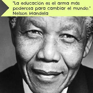 Nelson Mandela educación