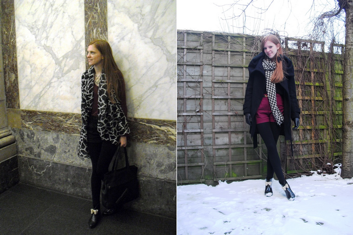 Winter Outfits Fashion Blogger Antwerp Snow