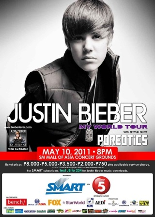 justin bieber eenie meenie vip package. Justin Bieber arrives in the