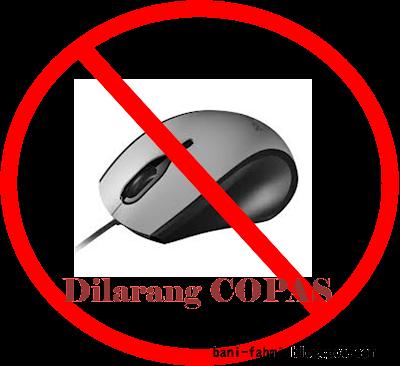 Cara Agar Blog Tidak Bisa di Copas | Disable Klik Kanan