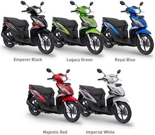 Gambar - Foto Honda Spacy Helm In