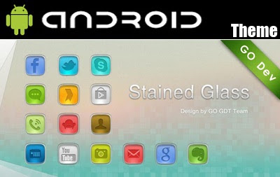 StainedGlass GO Launcher v1.0 Theme Android APK MEdia