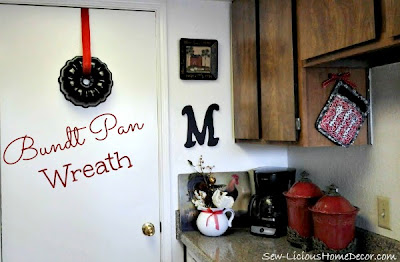 DIY Bundt Pan Wreath