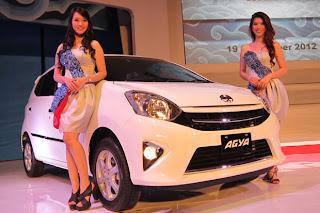 Harga dan Spesifikasi Mobil Toyota Agya Indonesia 2013