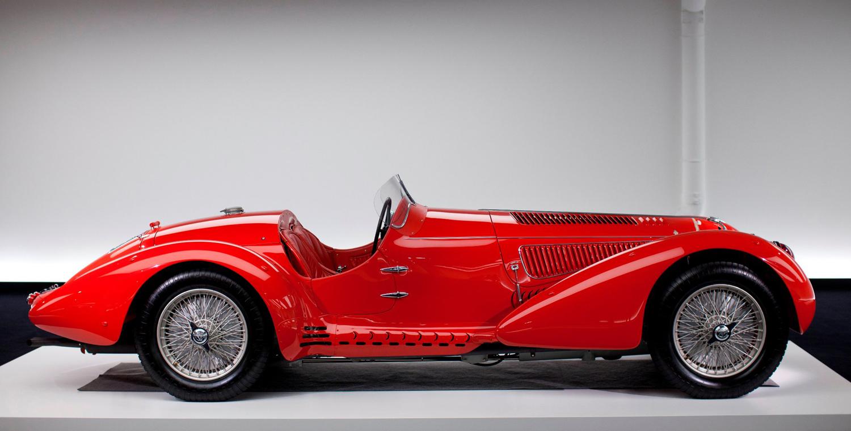 Alfa Romeo 8C 2900B Millie Miglia spyder by Touring   Vintage ...