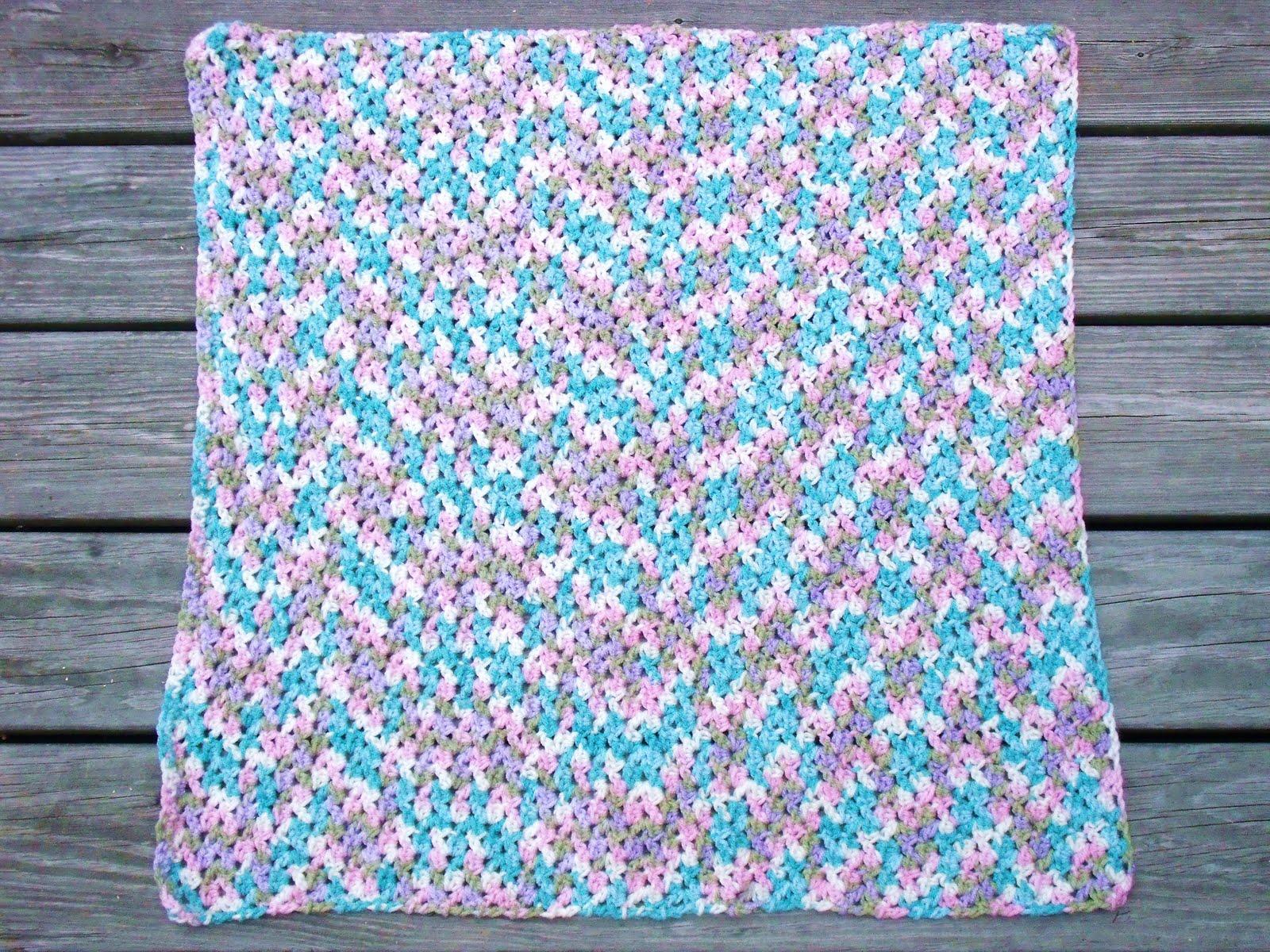 Simple Easy Crochet Baby Blanket Patterns : Easy Crochet Pattern: Shell Look Baby Blanket Finish