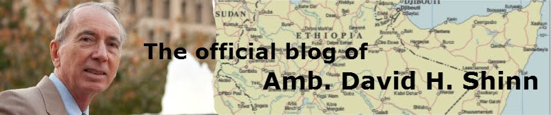 The Official Blog of Amb. David H. Shinn