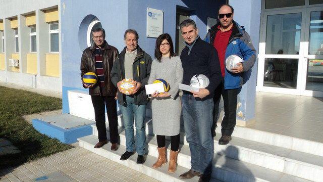 Η Λέσχη Πετοσφαίρισης Αλεξανδρούπολης στο Παιδικό Χωριό SOS Θράκης