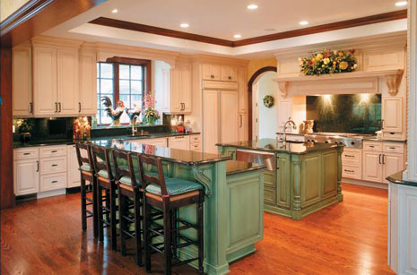 kitchen islands with breakfast bars