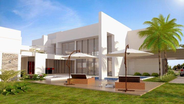 Djhonatan box 39 s casas contempor neas sem telhado aparente - Casas super pequenas ...