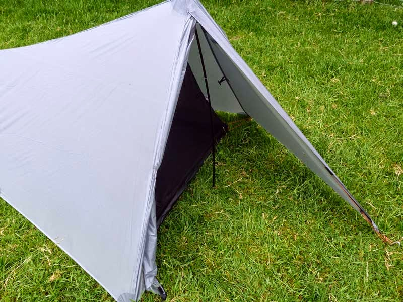 At first glance the Trekkertent Stealth looks much like a small ridge tent and thatu0027s really no surprise because if you set it up like a small ridge tent ... & Trekkertent Stealth ... bomb-proof shelter. | Bear Bones Bikepacking