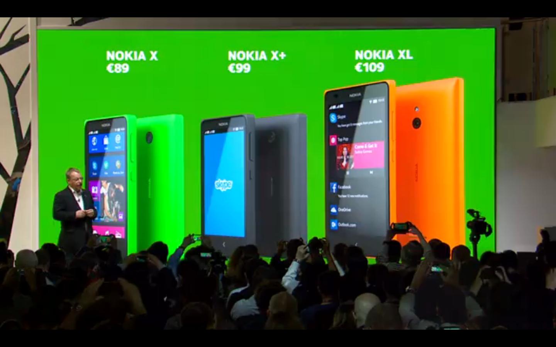 Nokia X X+ XL مواصفات