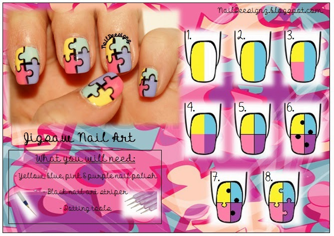 http://naildeesignz.blogspot.co.uk/2014/06/jigsaw-nail-art.html