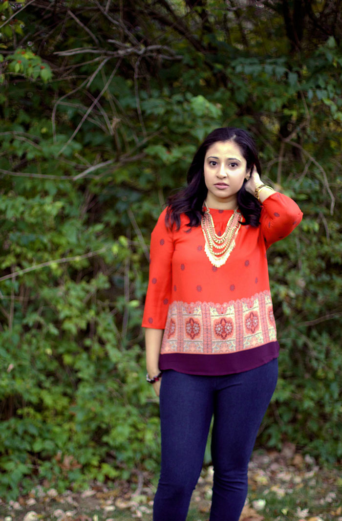 Anthropologie Rila blouse | Bangles and Bungalows