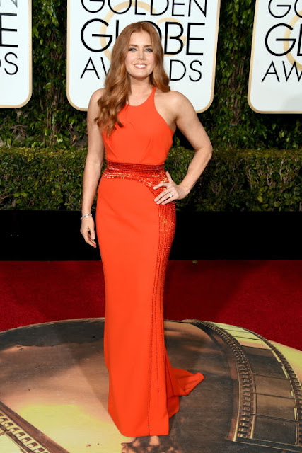Amy Adams Versace Golden Globes