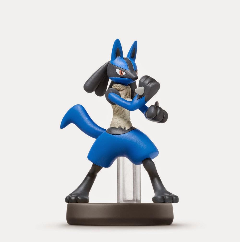 JUGUETES - NINTENDO Amiibo - 21 : Figura Lucario  (23 enero 2015) | Videojuegos | Muñeco | Super Smash Bros Collection  Plataforma: Wii U & Nintendo 3DS