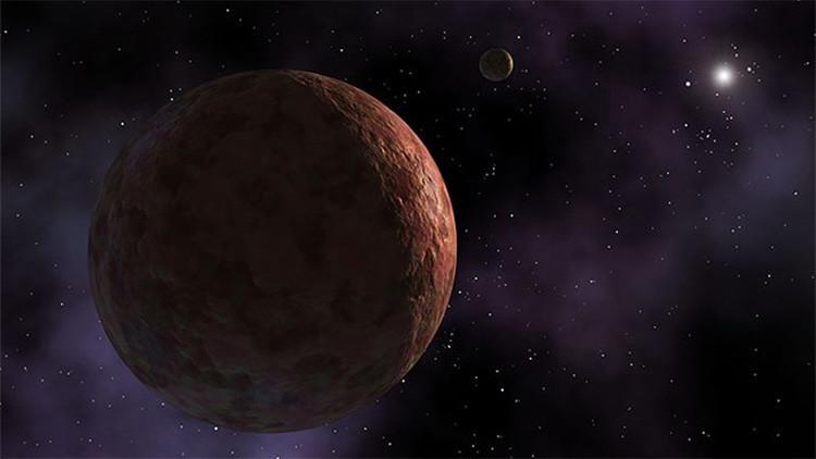El peligro para la tierra  del planeta X