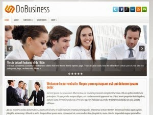 DoBusiness - Free Wordpress Theme