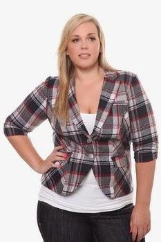 Imagenes de blazer para mujeres gorditas