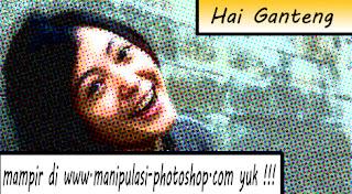 Tutorial Foto Efek Komik
