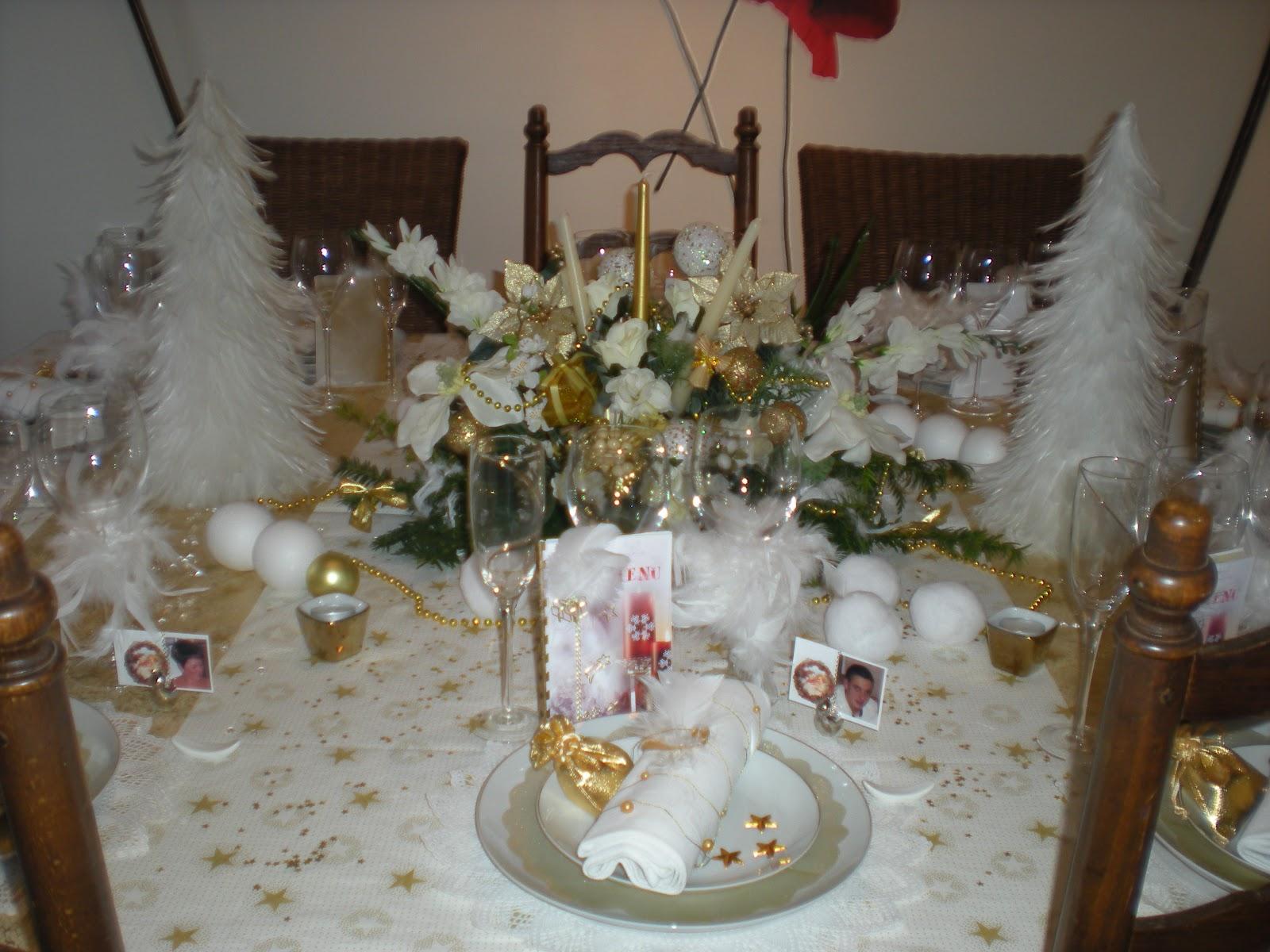 #382C1F Déco De Noël En Or Et Blanc . Déco De Table à Thèmes 6059 decoration de noel table blanc 1600x1200 px @ aertt.com