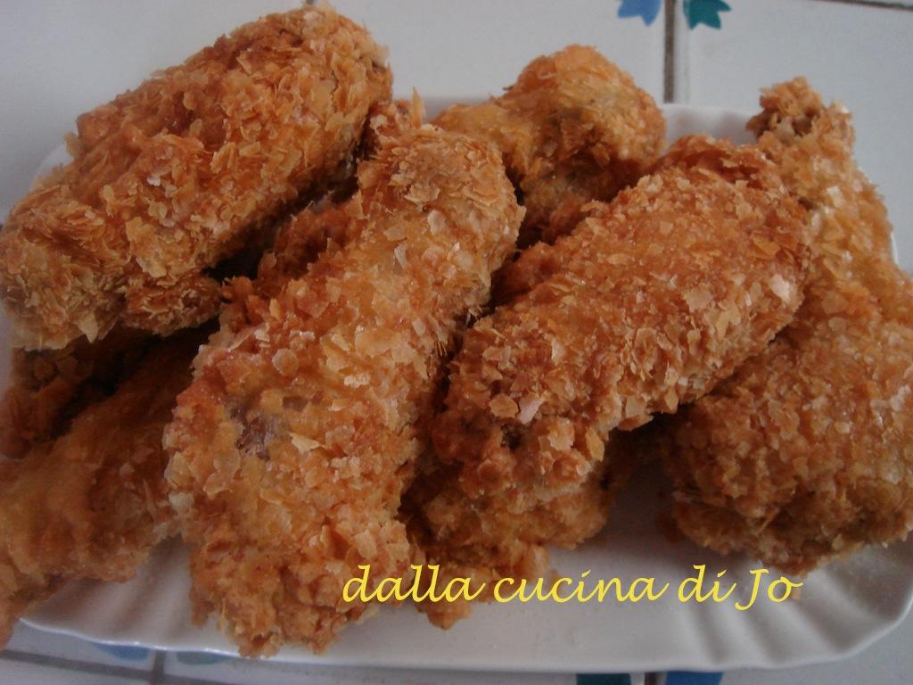 dalla cucina di jo'': ali di pollo fritte in pastella alla birra