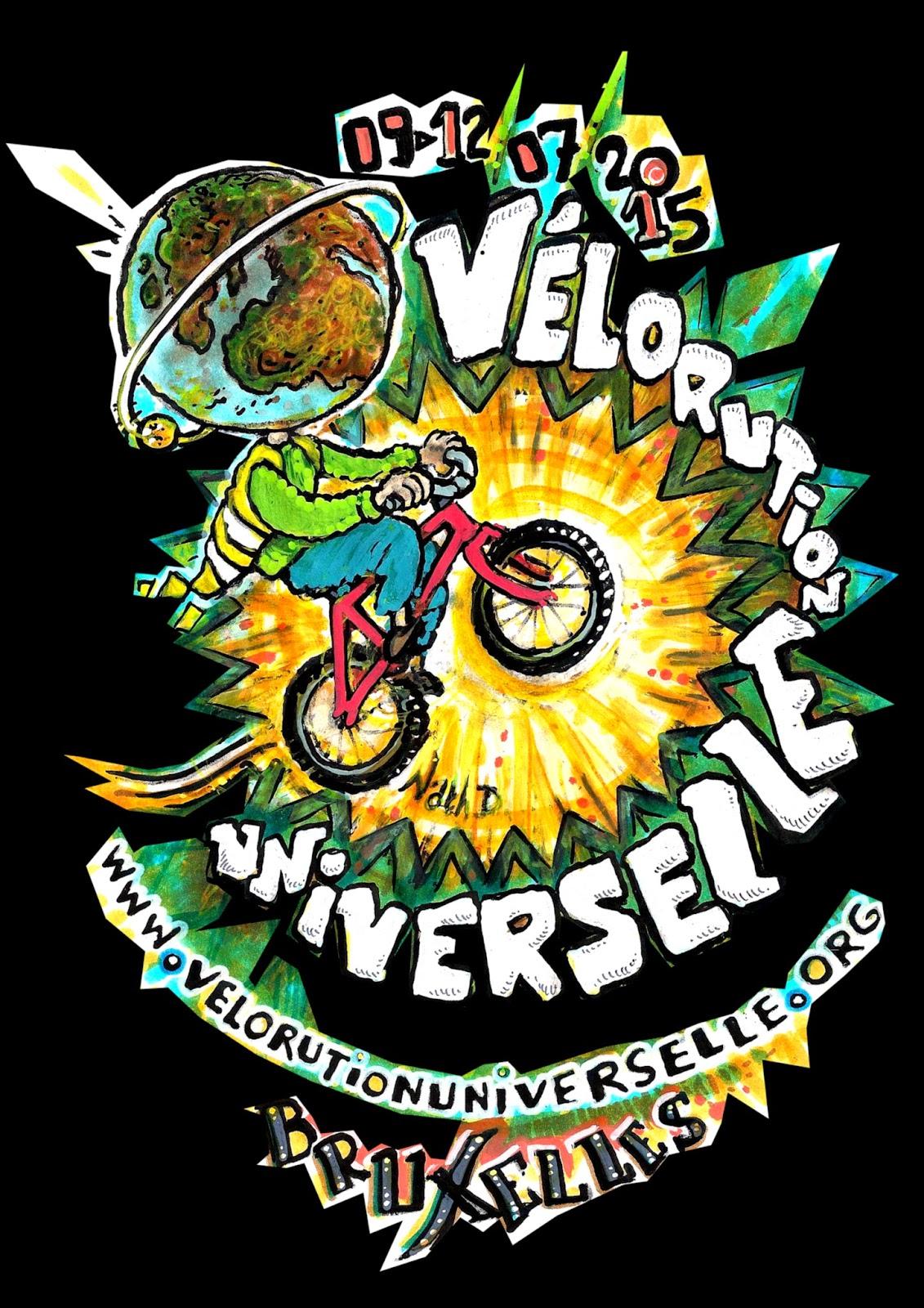 pour la révolution universelle 2015 à Bxl