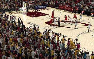 NBA 2K13 Cleveland Cavaliers Stadium Crowd Patch