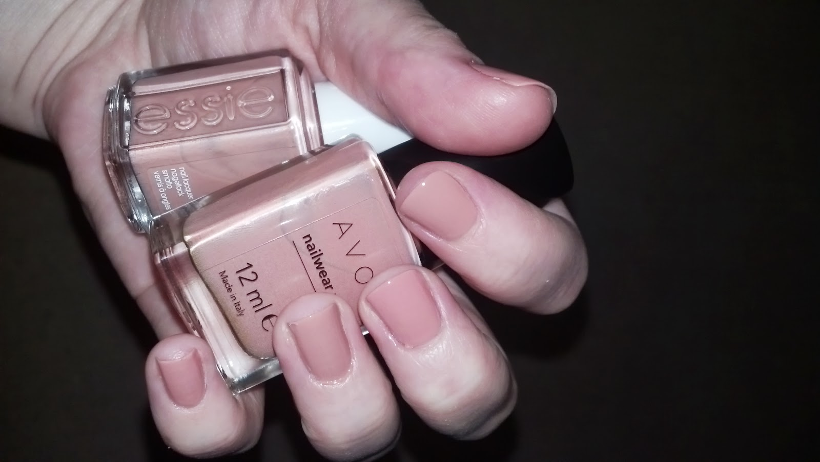 Avon Perfectly Flesh - Incredible dupe for Essie Eternal OptimistEssie Eternal Optimist Dupe