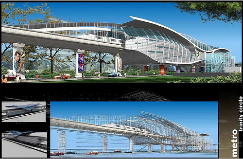 essay about bangalore metro stations