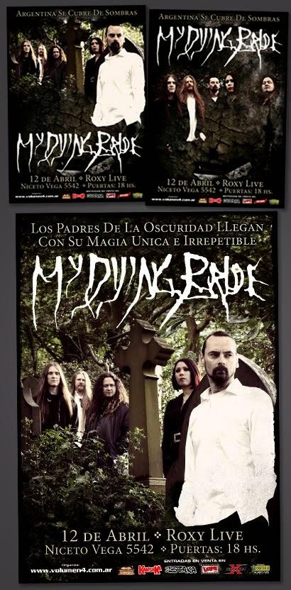 My Dying Bride / En Argentina 2013