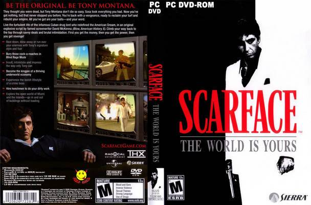 Mediafire PC Games Download: Scarface The World is Yours ...