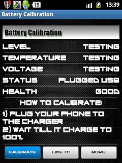pilih calibrate